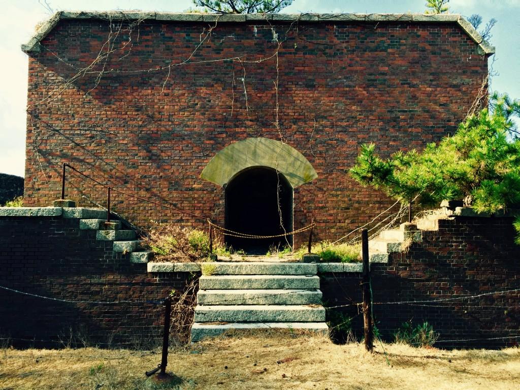 ラピュタの島 友ヶ島 第2砲台跡
