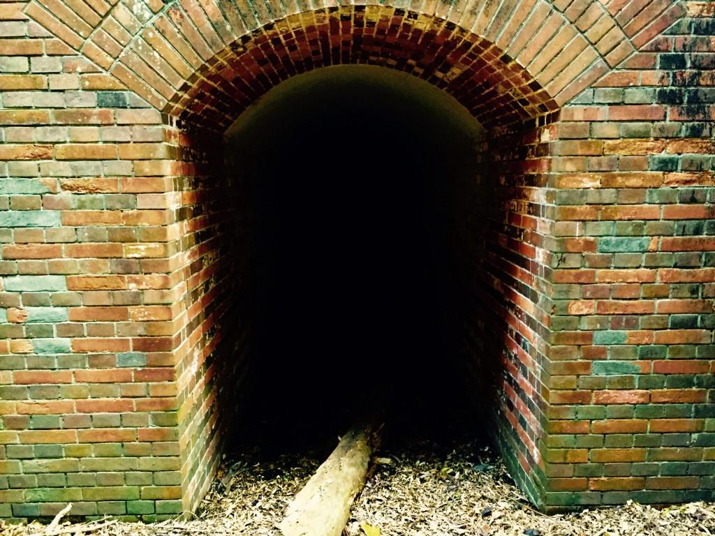 ラピュタの島 友ヶ島 第4砲台跡のトンネル