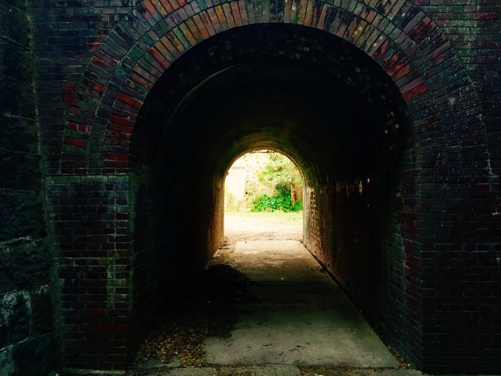 友ヶ島 第3砲台跡 付近の通路