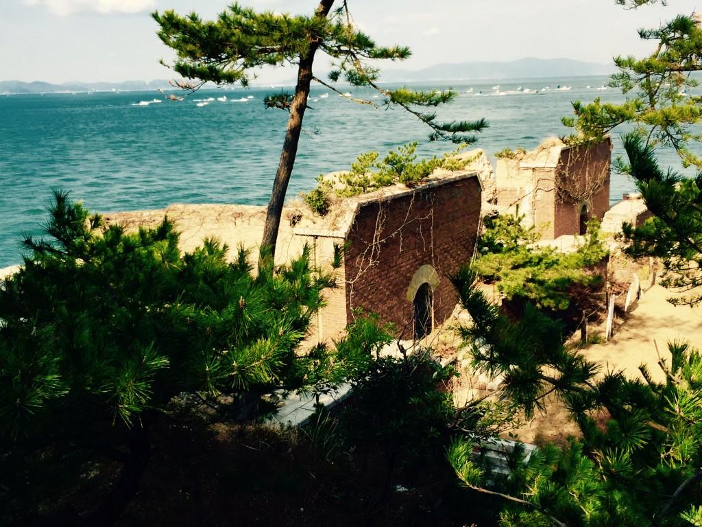 友ヶ島 第2砲台跡