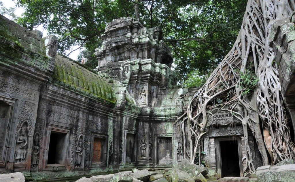 タプローム遺跡:カンボジア