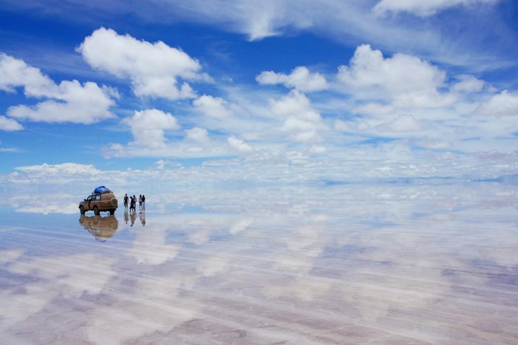 ウユニ塩湖:ボリビア