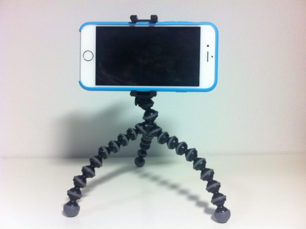 iPhone6とゴリラポッド