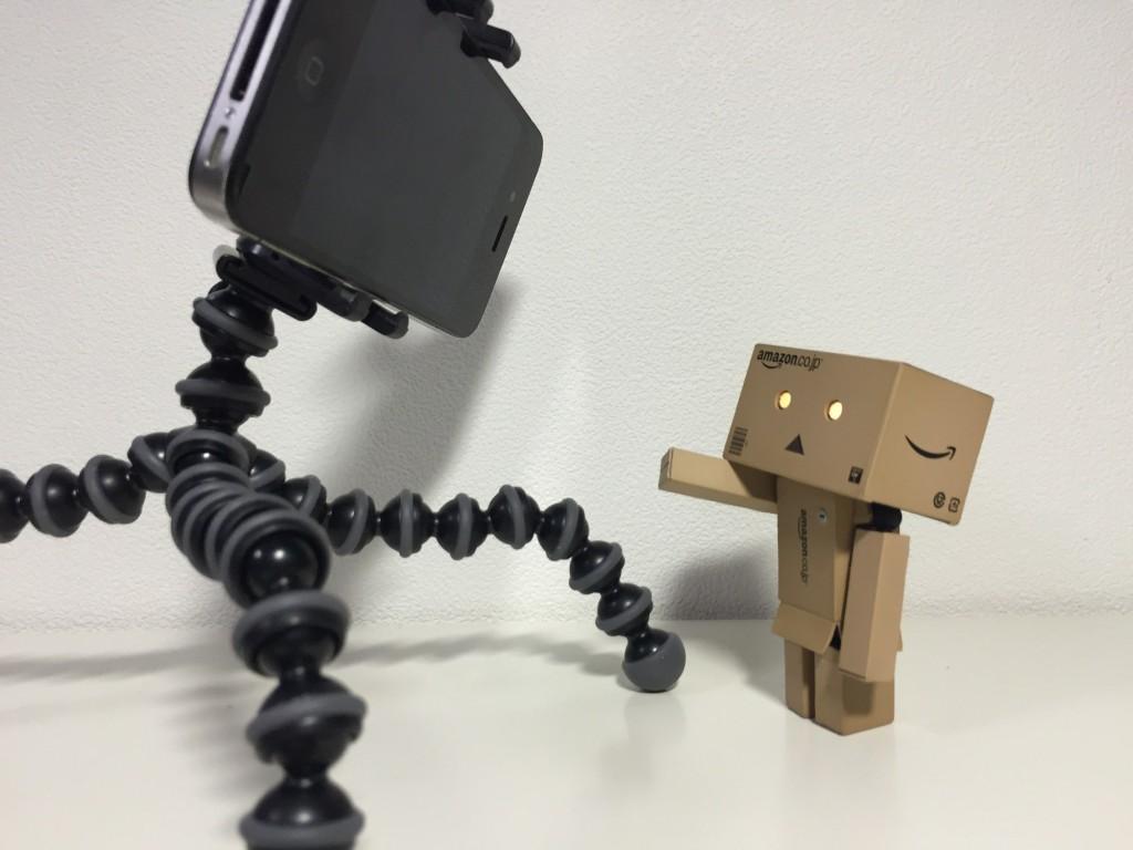 ダンボーとiPhoneの出会い。