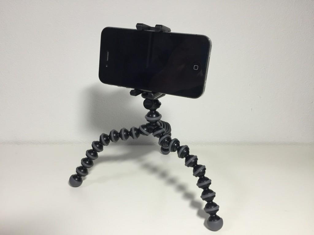 JOBY「GripTight GorillaPod Stand」(ゴリラポッド)とiPhone4