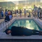 金沢21世紀美術館で横不動してアートと芸術的な合体をしてきたよ