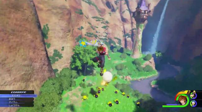 【キングダム ハーツ3】最新映像公開!「塔の上のラプンツェル」のワールドが登場!!