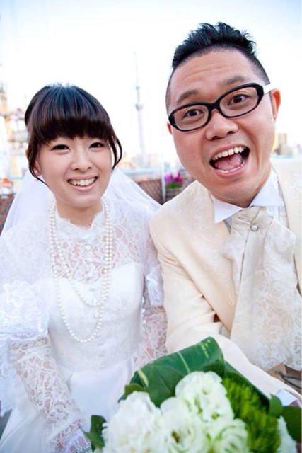 ホームレス小谷の結婚式の様子