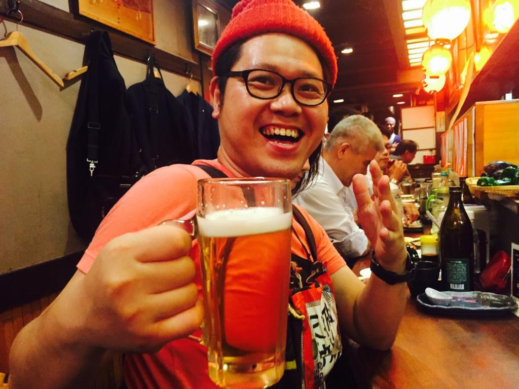 1日を50円で売るホームレス小谷さんと大阪で遊んできたよ!!