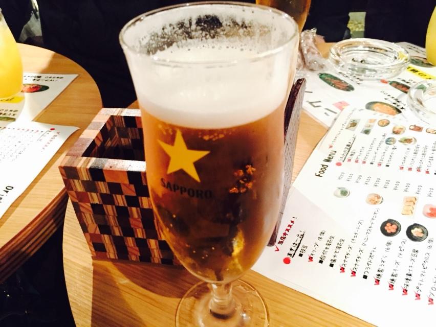 2次会のビール